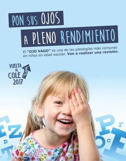 25983de9b1 Campaña visión infantil y rendimiento escolar - Una Entrada del Blog ...